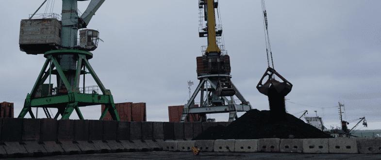 Бердянський порт прийняв пробну партію імпортного вугілля