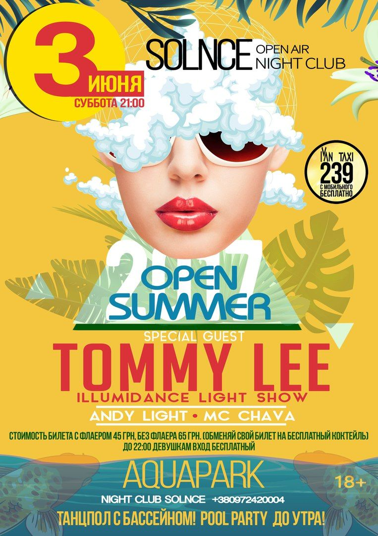Open Summer - Tommy Lee