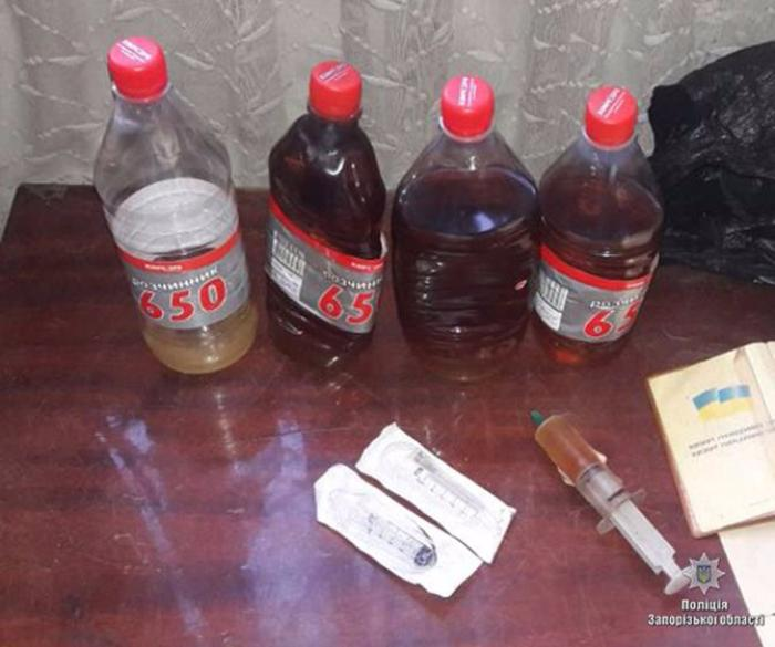 В Бердянську поліцейські вилучили наркотики на суму близько 225 тисяч гривень