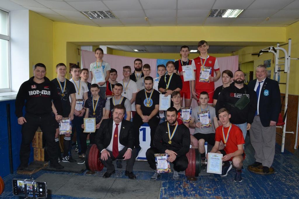 В Бердянске прошел чемпионат Запорожской области по пауэрлифтингу, жиму и классическому жиму