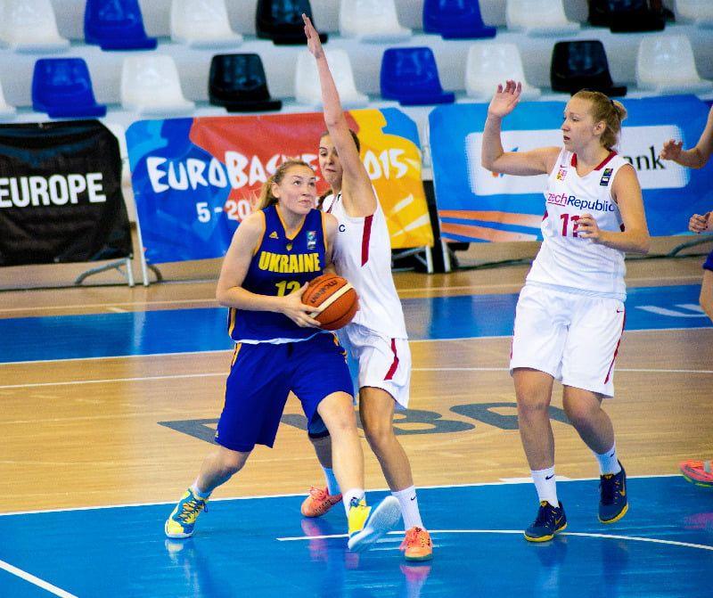 Бердянские баскетболистки не помогли молодежной сборной Украины остаться в сильнейшем дивизионе