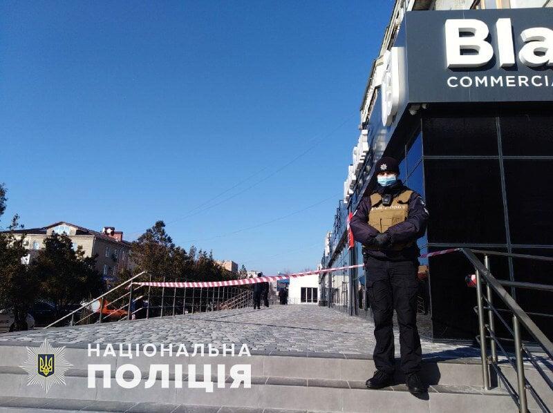 """Офіційно про вчорашні """"замінування"""" в Бердянську"""