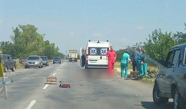 В результате аварии между Бердянском и Нововасильевкой погиб велосипедист