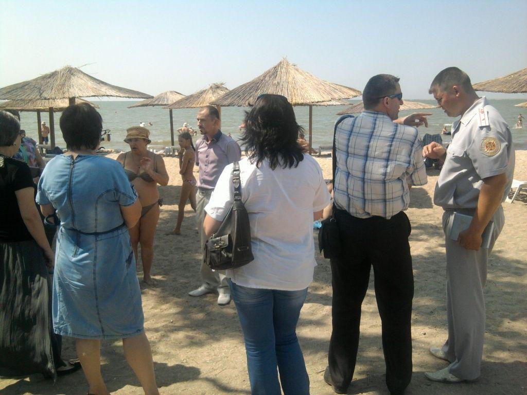 Рабочая группа комиссии исполкома продолжает работу по обследованию пляжей