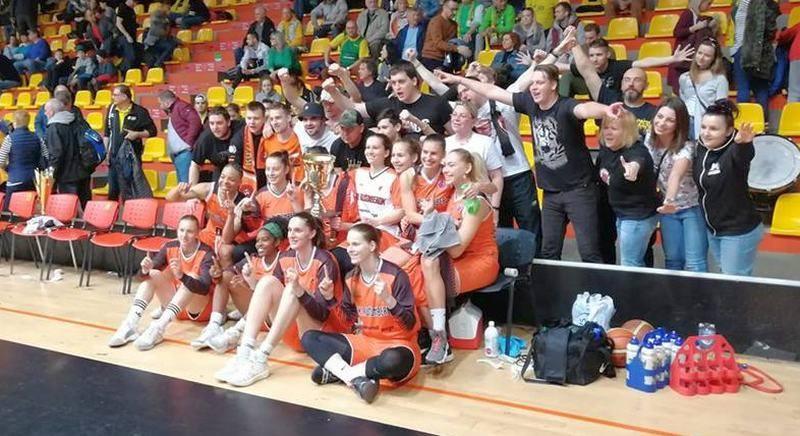 Ольга Яцковец из Бердянска выиграла кубок Словакии по баскетболу