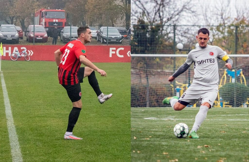 Евгений Чепурненко и Роман Помазан из Бердянска помогают «Диназу» выйти в первую лигу Украины по футболу