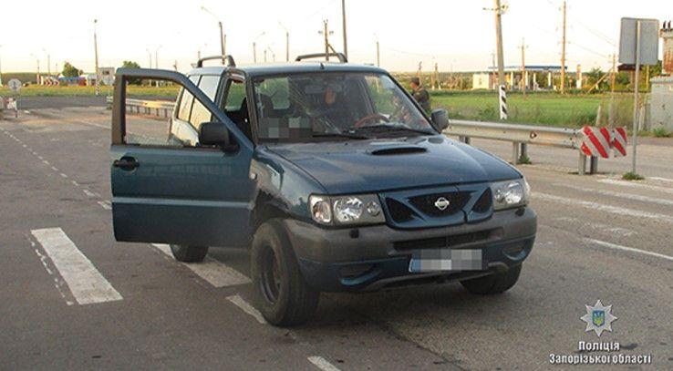 На блокпосту в Бердянську поліцейські вилучили боєприпаси