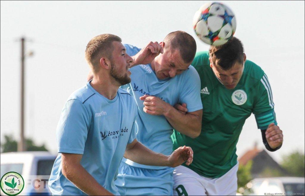 ФК «Бердянск» продлил неудачную серию в чемпионате области по футболу