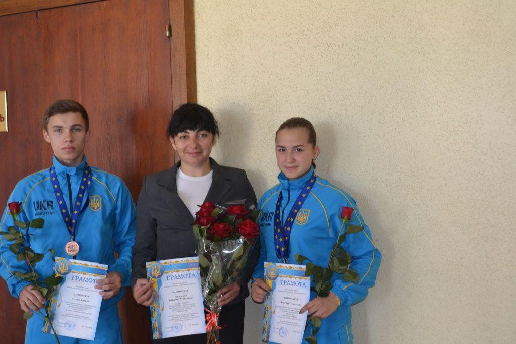 Екатерине Винниченко присвоено звание Заслуженного тренера Украины по ушу