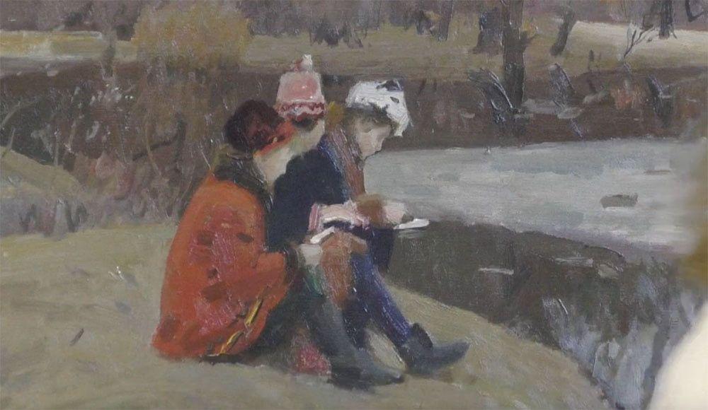 """В художньому музеї відкрили виставку """"Світ дитинства очима художників"""""""