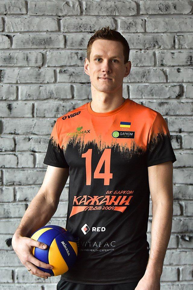 Бердянец Александр Гладенко попал в сборную Украины по волейболу