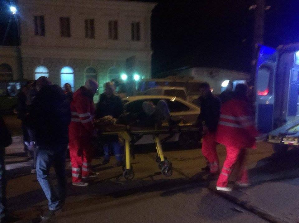 Возле ЖД вокзала автомобиль сбил школьника