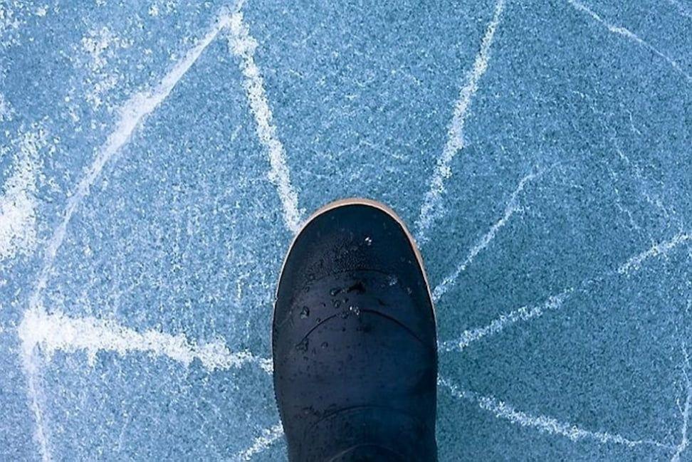 В Бердянске человек провалился под лёд