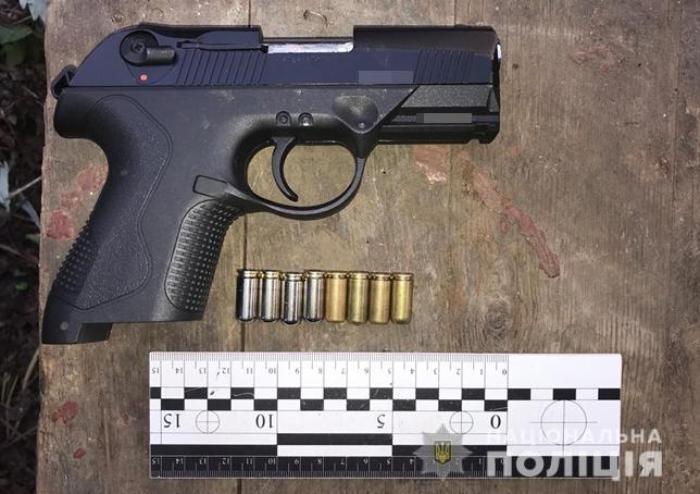 Бердянські поліцейські вилучили зброю та набої