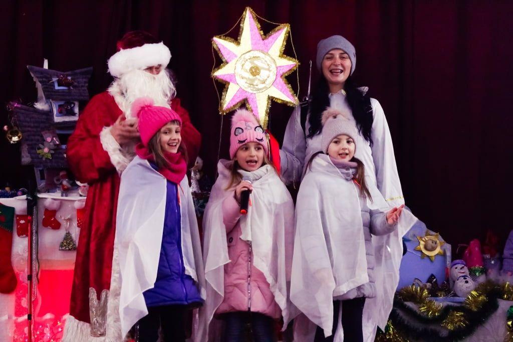 7 января в фонде Дядя Гоша прошли рождественские колядования