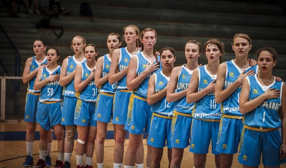 Украинки заняли восьмое место на чемпионате Европы по баскетболу U18