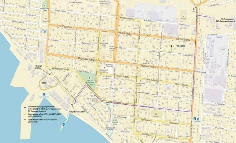Порт Бердянськ отримає власну кабельну електролінію та підвищить надійність енергозабезпечення