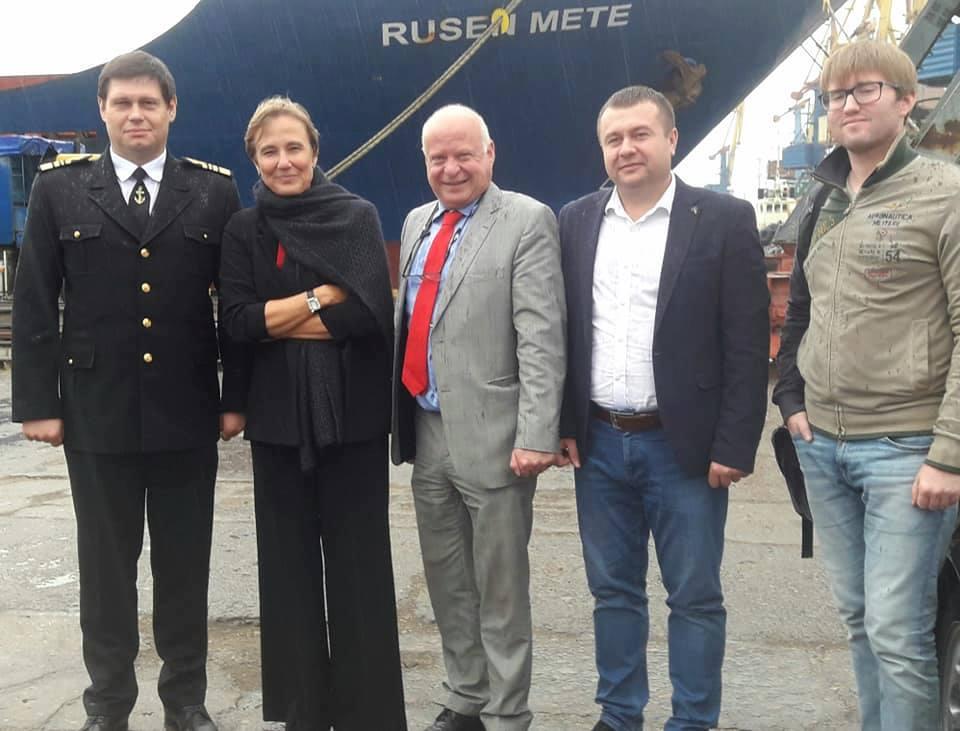 Бердянський морський порт відвідала Надзвичайний і Повноважний Посол Федеративної Республіки Німеччина в Україні Анка Фельдгузен