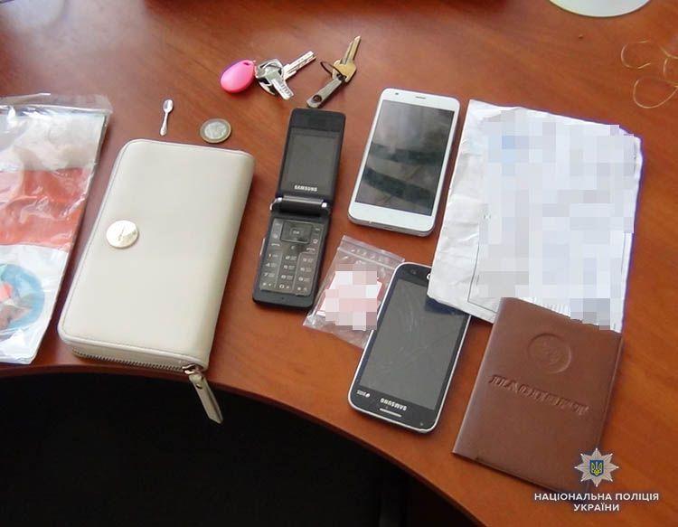 У Бердянську за підозрою у скоєнні крадіжок затримали жителя Харкова
