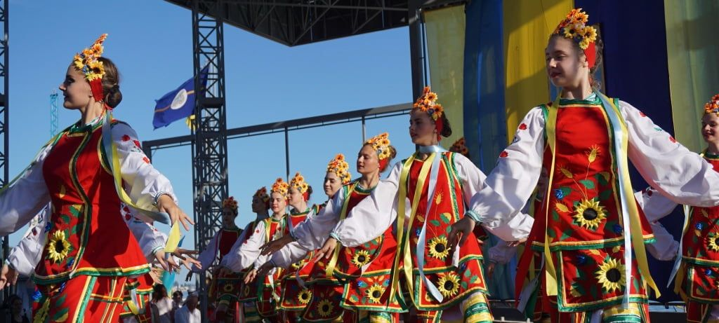 День Конституції в Бердянську відзначили святковим концертом