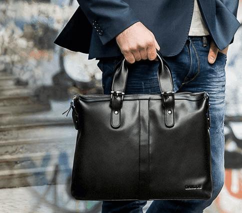 Как купить стильную мужскую сумку