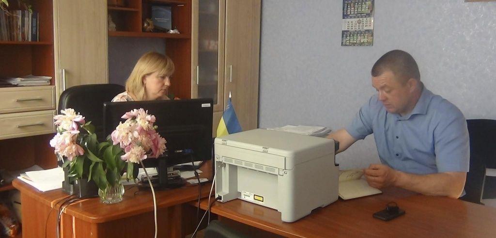Виїзна зустріч поліції до Азовської сільської ради
