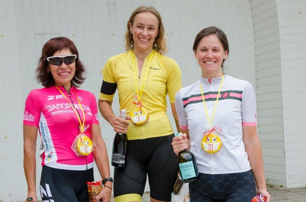 Велогонщица из Бердянска Анна Неженцева победила в чемпионате Запорожской области
