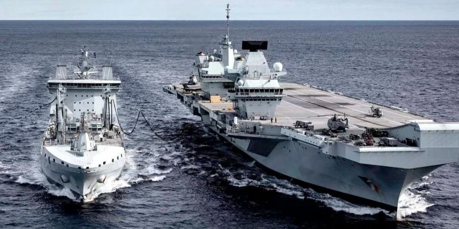 Найбільшу авіаносну групу британських ВМС залучать до операцій із забезпечення безпеки у Чорному морі