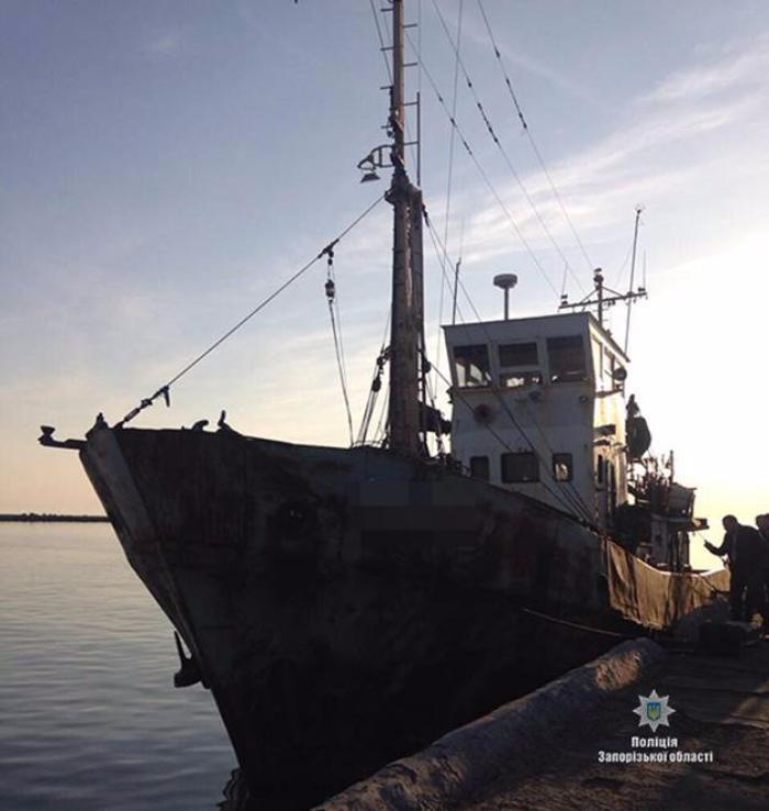 Бердянские правоохранители изъяли около 2 тонн незаконно выловленной рыбы