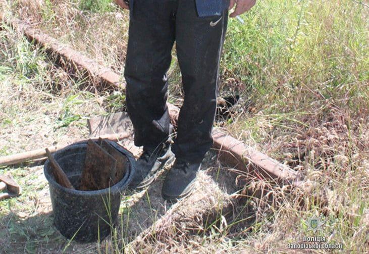 Затримали зловмисника, який розбирав залізничні колії у місті Бердянськ