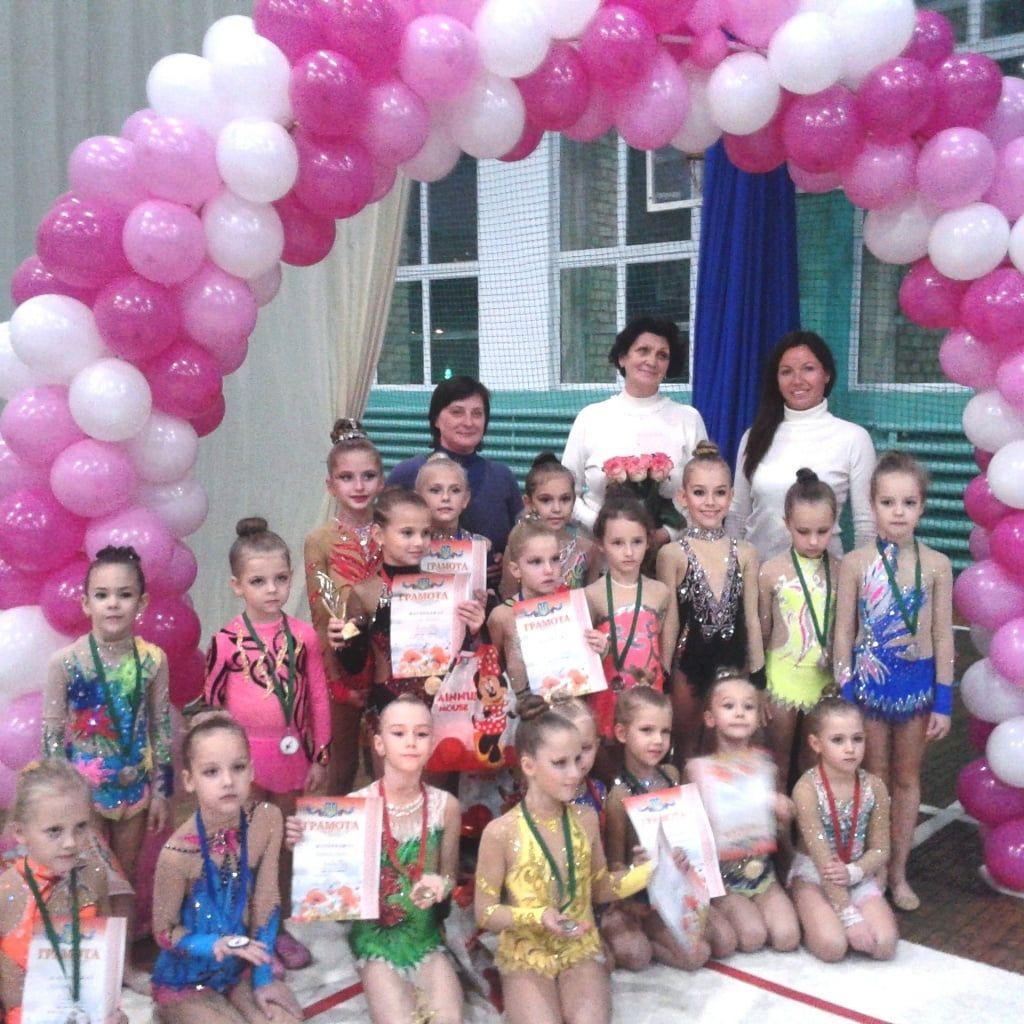 Бердянские гимнастки успешно выступили на турнире в Запорожье