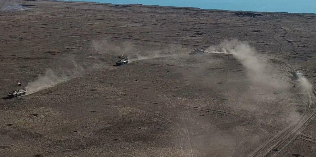 Штаб ООС опубликовал видео тактических учений войск, обороняющих передовые позиции на Приазовье