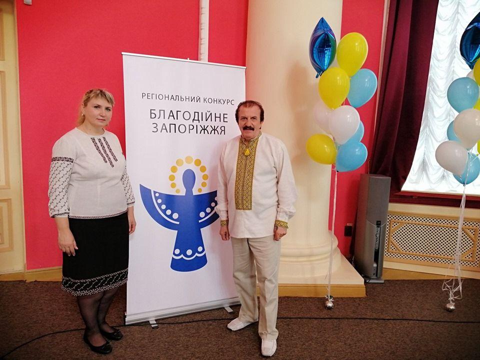 Анетта Омельченко - волонтер року