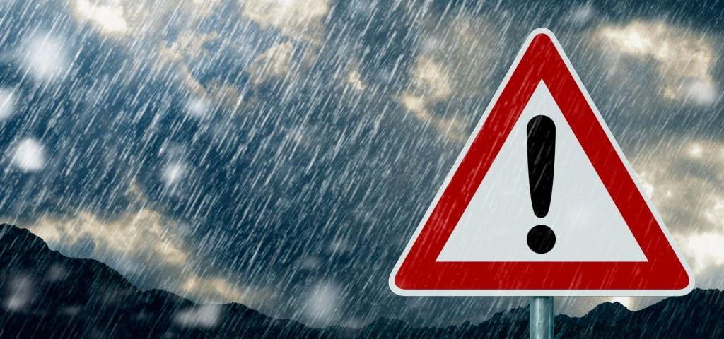 Погіршення погодних умов 20 - 22 березня