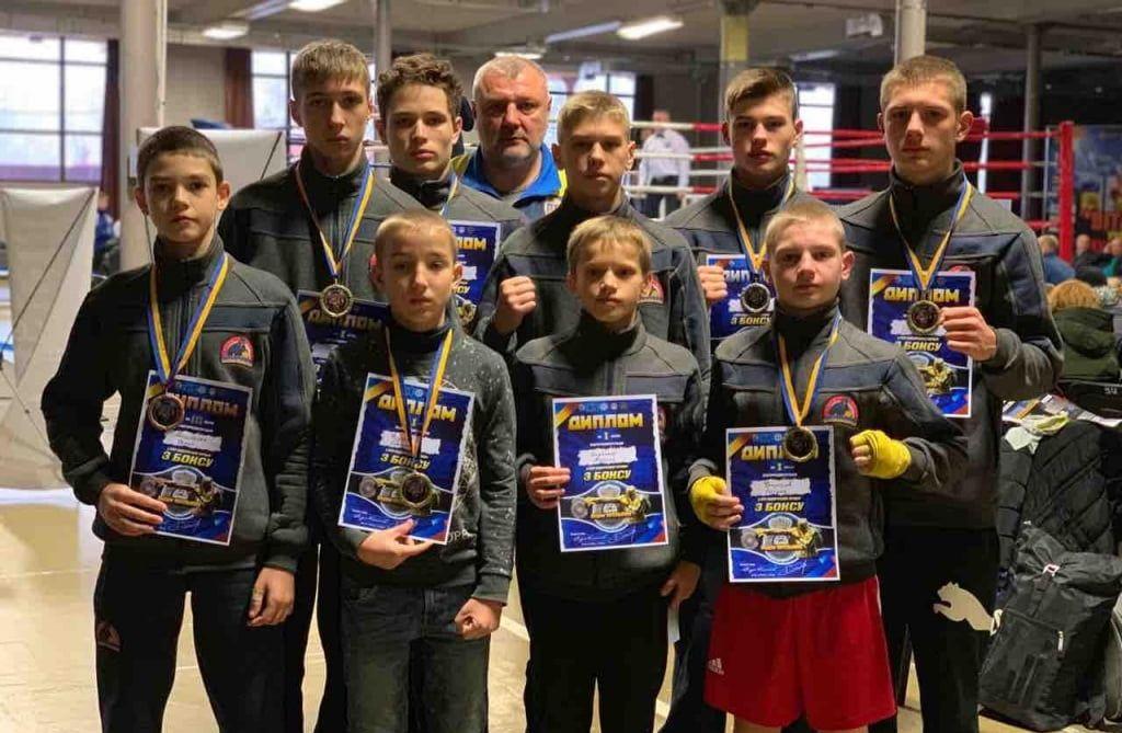 100-процентное попадание. Девять бердянских боксеров завоевали медали международного турнира во Львове