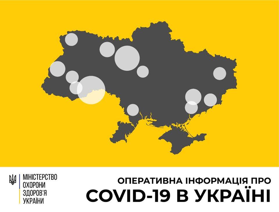 Плюс 62 за добу. В Україні 218 хворих на коронавірус