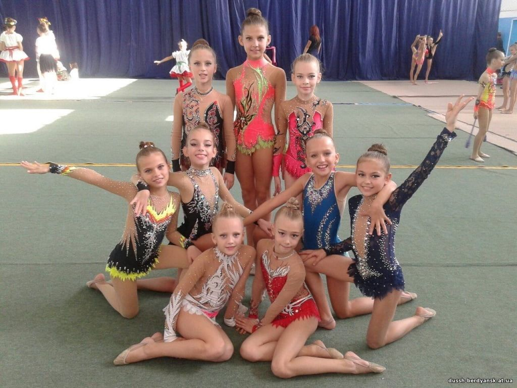 Бердянские гимнастки завоевали 10 медалей на турнире «Скифская надежда»