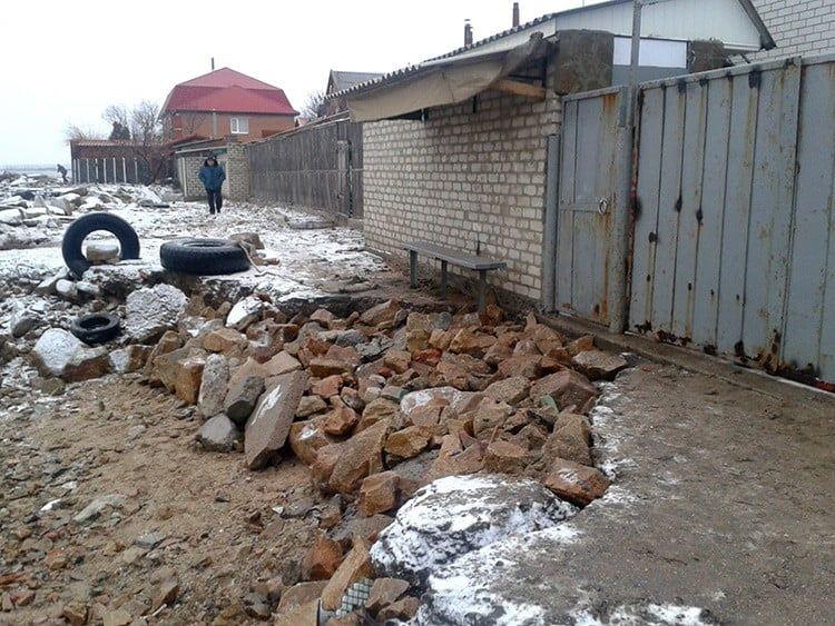 Лисовцы сообщают об ухудшении ситуации на участках размыва берега