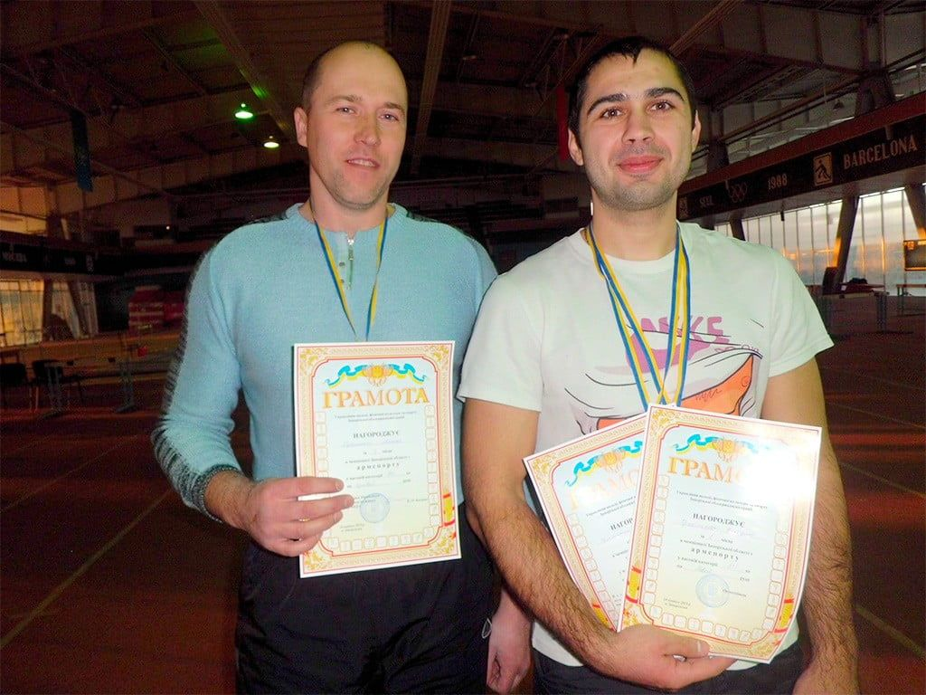Чемпионат Запорожской области по армспорту-2015