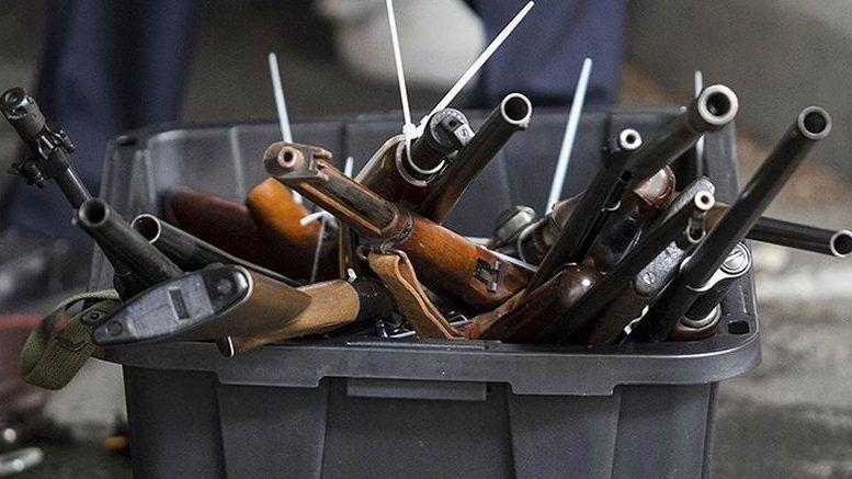 З першого жовтня розпочинається місячник добровільної здачі зброї