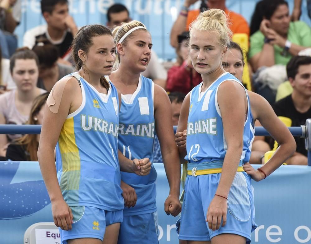 Украинские баскетболистки не смогли пробиться в полуфинал юношеской Олимпиады