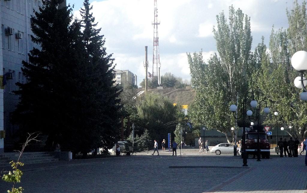 В Бердянске заминировали исполком и ж/д вокзал (обновлено в 21:39)