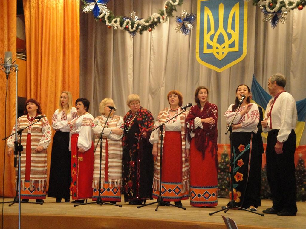 В Бердянске состоялся большой отчетный концерт хоровой капеллы