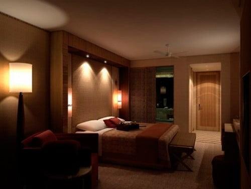 Как сделать освещение в спальне