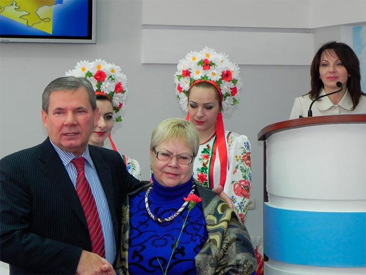 В Бердянске отмечают День местного самоуправления