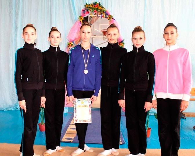 Влада Дзюбан – бронзовый призер чемпионата Украины по художественной гимнастике среди школьниц
