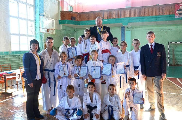 Каратисты из Бердянска приняли участие во II Чемпионате памяти В. Самойлюка