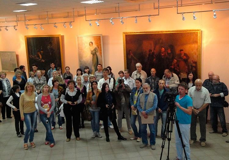 В художественном музее имени И. И. Бродского открылась очередная выставка