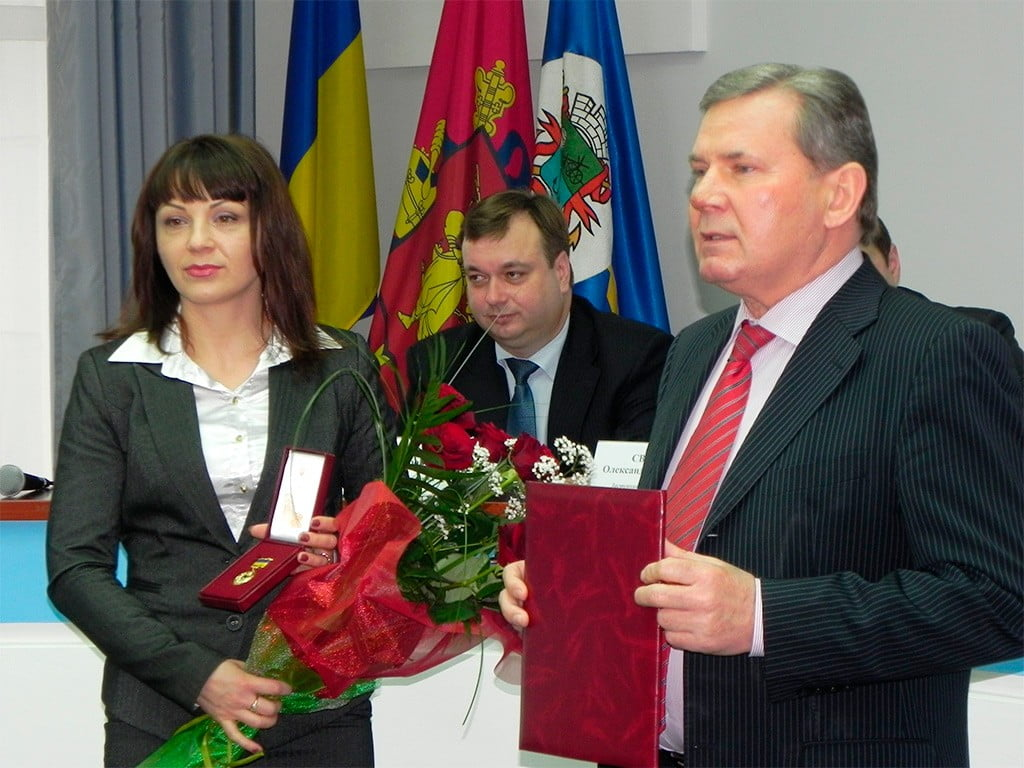 Мэра Бердянска наградили Почетной грамотой Кабинета Министров Украины