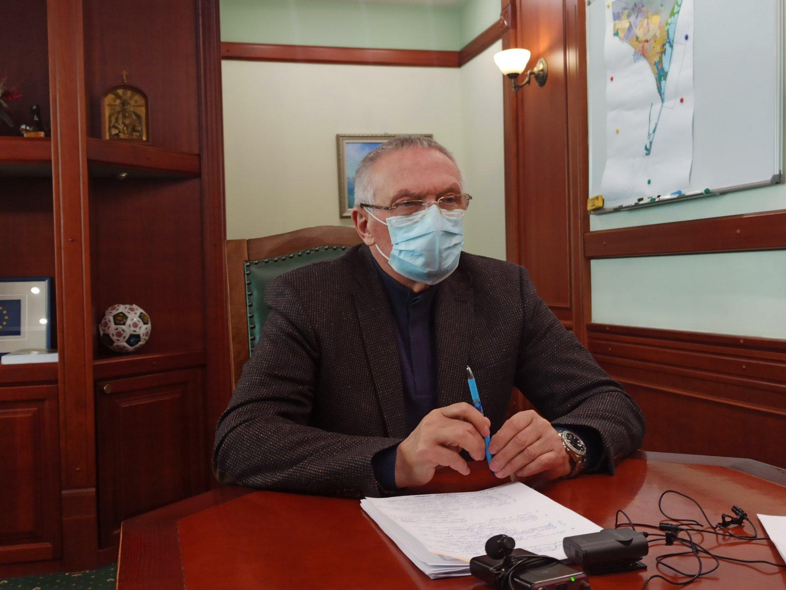 Баранов на пресс-конференции